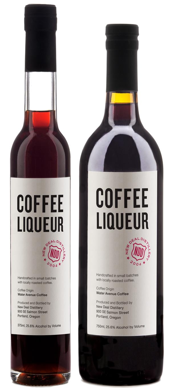 New Deal Coffee Liqueuers