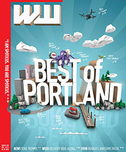 Best of Portland Willamette Week Cover