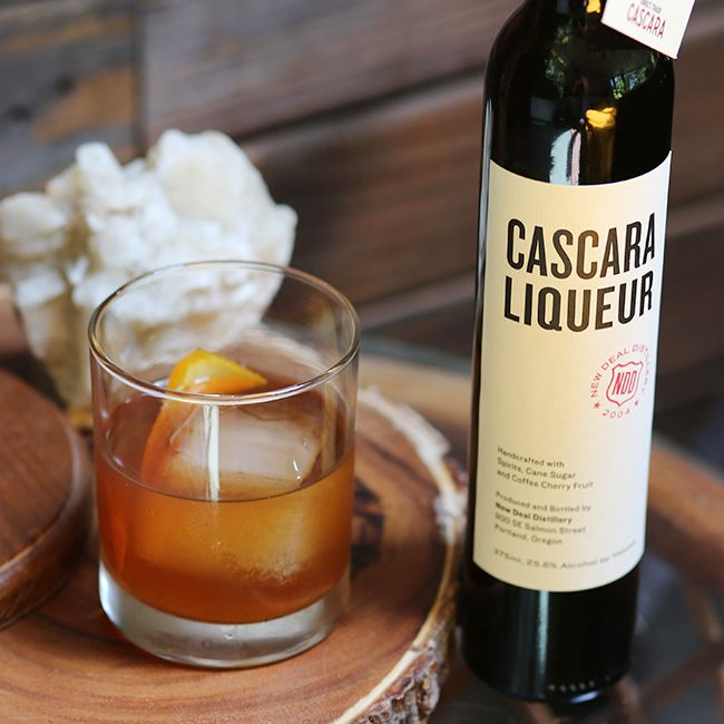 Cascara Old Fashioned Cocktail Recipe